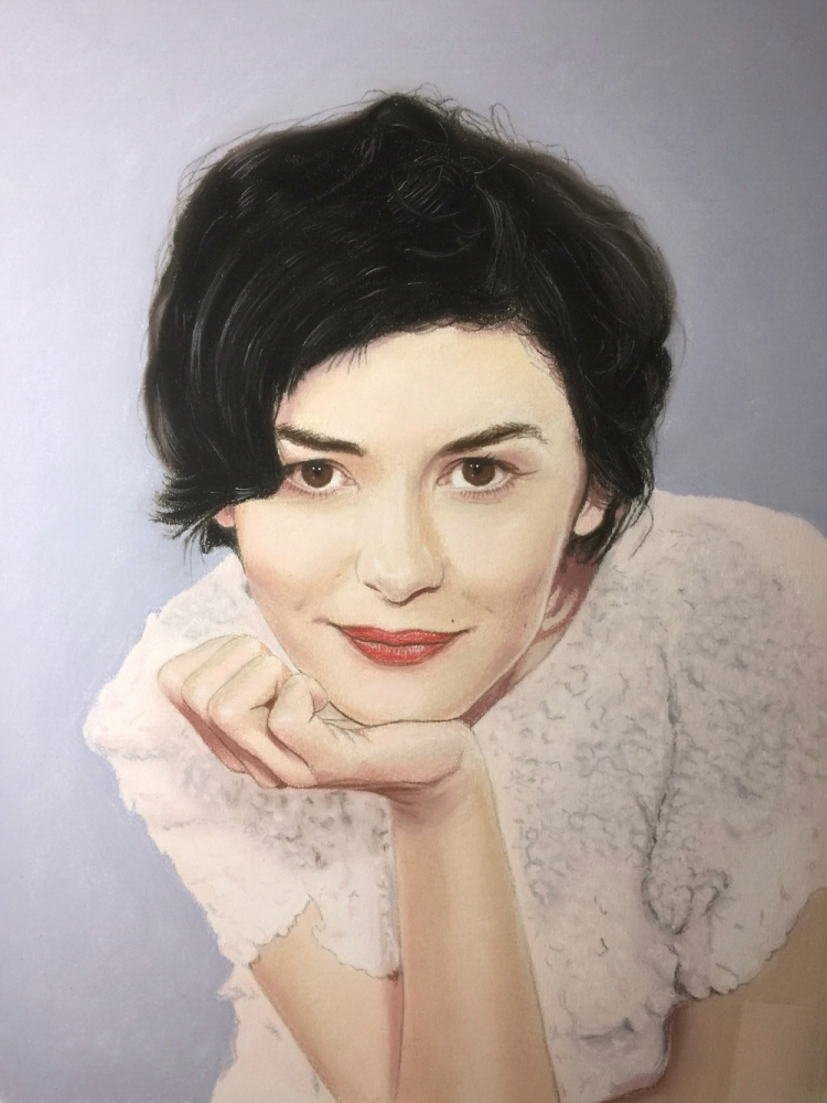 Audrey Tautou by JavierNoda
